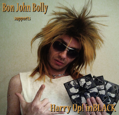 bonjohnbolly supports inBLACK
