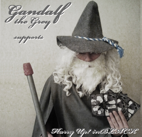 gandalf supports inBLACK