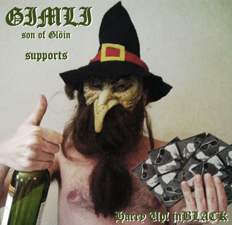 gimli supports inBLACK